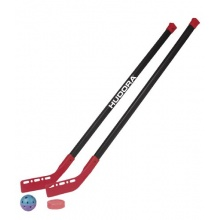 HUDORA,Rollhockey Set, inkl. 2 Schläger,1 Puck,1 Ball Bild 1