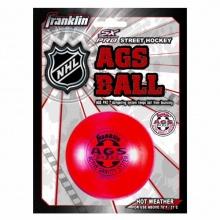 Franklin Rollhockey Ball AGS Super High Density, rot Bild 1