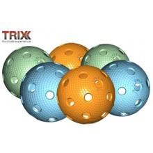 MEGASAT TRIX Unihockey,Rollhockey Ball 6St. MATCHBALL Bild 1