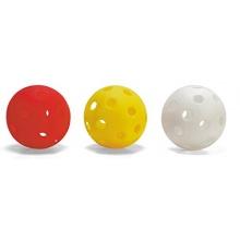 Floorball Rollhockey Ball 6er Set 70mm in weiß Bild 1