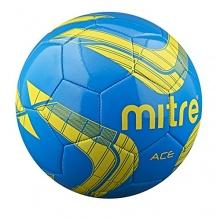 Mitre Fußball Ace Freizeit, Blau/Gelb, 4, BB9010BQ1 Bild 1