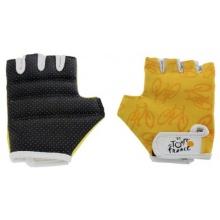 Tour de France Fahrradhandschuhe schwarz gelb S Bild 1
