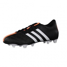 adidas Fussballschuhe 11questra FG Leder 46 core black Bild 1