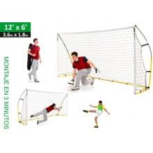 QuickPlay Kickster - portables Fußballtor 3.66 x 1.82m Bild 1