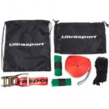 Ultrasport Slackline Set inkl. Baumschutz Hilfsseil Bild 1