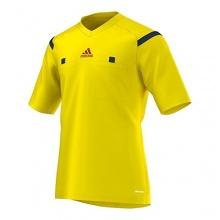 adidas Schiedsrichter Trikot Referee 1/4 Arm,gelb,Gr.M Bild 1