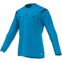 adidas Schiedsrichter Trikot Referee langArm,Blue,Gr.L Bild 1