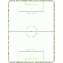 Taktifol Fussball Set Rolle mit 25 Blatt,Taktikboard  Bild 1