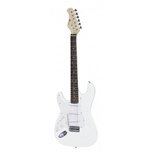 DIMAVERY ST-203 E-Gitarre LH, weiß Bild 1