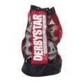 Derbystar Fussball Ballsack Ca. 10 Bälle, Rot Bild 1