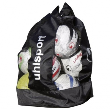 uhlsport Ballsack, schwarz/silber Bild 1