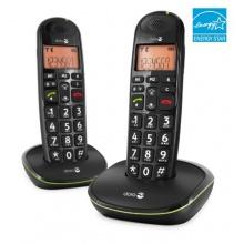Doro PhoneEasy 100w Duo DECT Schnurlostelefon Bild 1