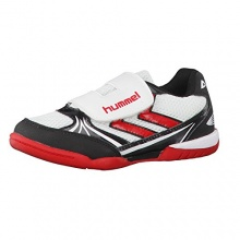 Hummel Handballschuhe Authentic Jr. 33 WHITE/BLACK/RED Bild 1