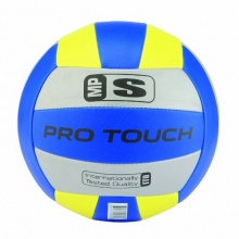 PRO TOUCH Volleyball MP-School, silb/blau/gelb,5  Bild 1