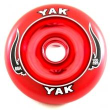 Inlineskate Rolle von YAK SCAT 100mm - 88A - 1 St Bild 1