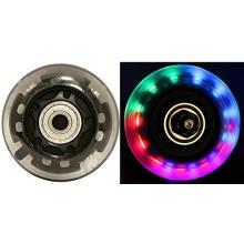 Blank Inlineskate Rollen 64mm Clear LED multicolor 82a Bild 1