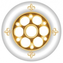 YAK FLEUR Inlineskate Rollen 2012 gold, 110mm/88a Bild 1