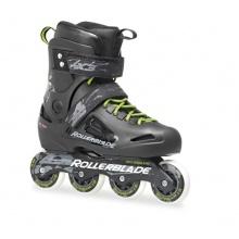Rollerblade Inlineskate Fusion X3, Black/Green, 45 Bild 1