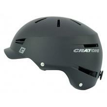 Cratoni Skatehelm Lexo, Black Matt, 55-58 cm Bild 1