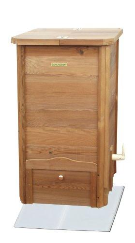 305 lt supercomp thermo holz komposter test. Black Bedroom Furniture Sets. Home Design Ideas