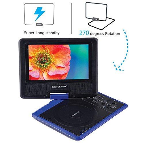 dbpower 7 5 tragbarer dvd player test. Black Bedroom Furniture Sets. Home Design Ideas