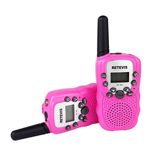 retevis rt 388 walkie talkie f r kinder test. Black Bedroom Furniture Sets. Home Design Ideas