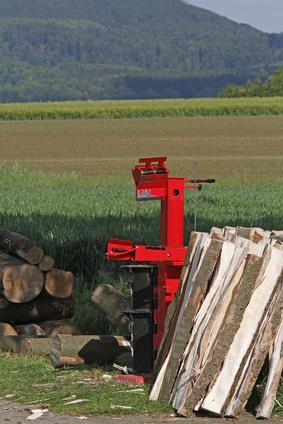 Holzspalter im Test