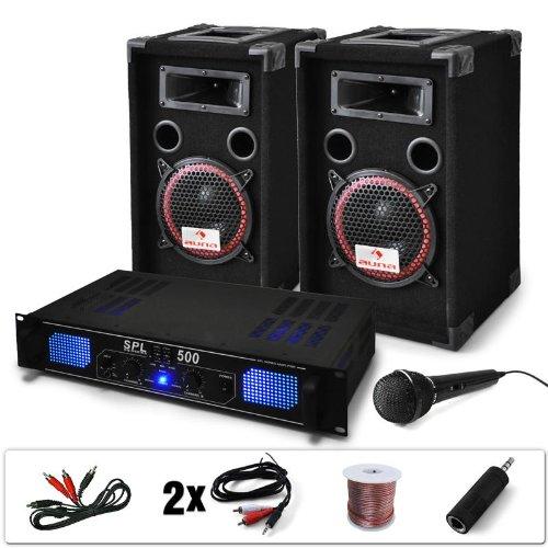 dj pa set dj 14 1600 watt karaoke test. Black Bedroom Furniture Sets. Home Design Ideas