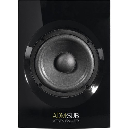 reloop adm sub aktiv subwoofer studio monitor schwarz test. Black Bedroom Furniture Sets. Home Design Ideas