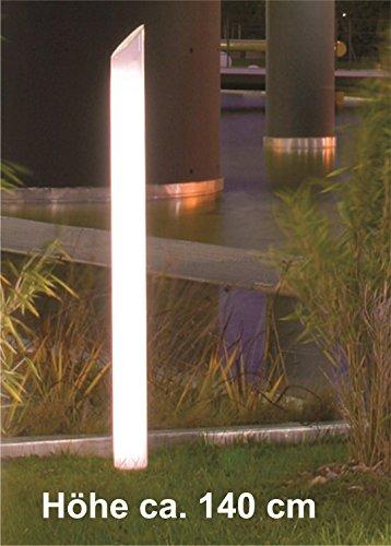 wegeleuchte light star small h he 140 cm mit zuleitung test. Black Bedroom Furniture Sets. Home Design Ideas