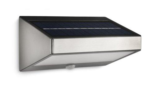philips mygarden solar led wandaussenleuchte test. Black Bedroom Furniture Sets. Home Design Ideas