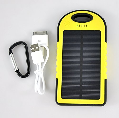 solar panel ladeger t f r iphone samsung von lychee test. Black Bedroom Furniture Sets. Home Design Ideas