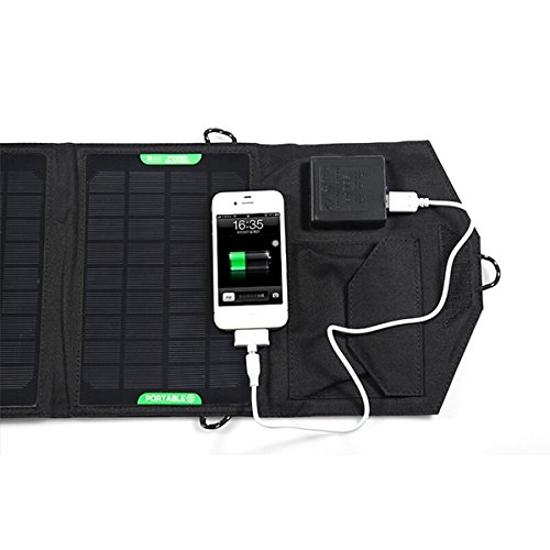 solar panel ladeger t f r ipad iphone laptop von leorx test. Black Bedroom Furniture Sets. Home Design Ideas