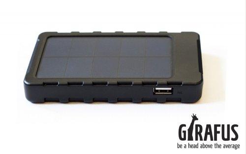 solar ladeger t iphone handy von girafus technologies test. Black Bedroom Furniture Sets. Home Design Ideas