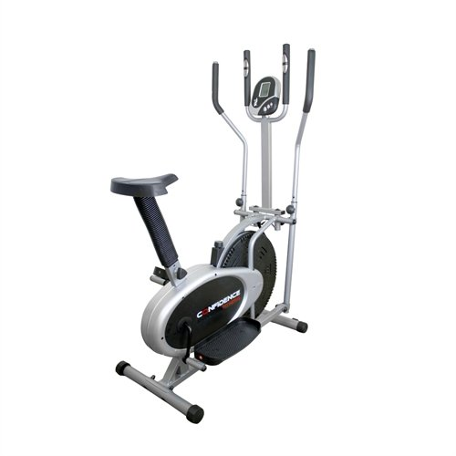 fitness pro cross heimtrainer von confidence test. Black Bedroom Furniture Sets. Home Design Ideas