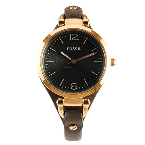 fossil damen analog armbanduhr xs ladies dress es3077 test. Black Bedroom Furniture Sets. Home Design Ideas