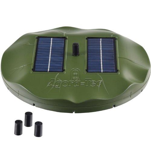 agora tec at 1 8w solar teichpumpe 1 8 watt hmax test. Black Bedroom Furniture Sets. Home Design Ideas