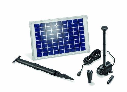 esotec solar teichpumpe 10 watt solarmodul 610 l h test. Black Bedroom Furniture Sets. Home Design Ideas