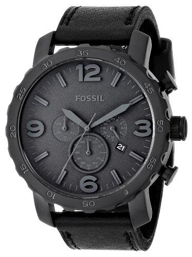 fossil herren analog armbanduhr xl trend leder jr1354 test. Black Bedroom Furniture Sets. Home Design Ideas
