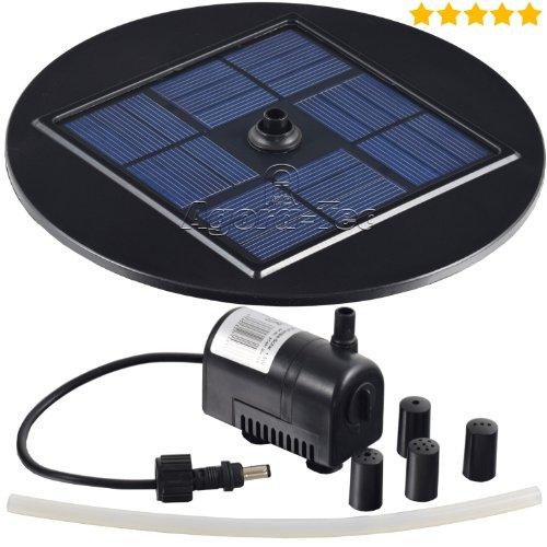at 1 5w solar teichpumpe 1 5 watt hmax test. Black Bedroom Furniture Sets. Home Design Ideas