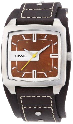 fossil herren analog leder braun trend jr9990 test. Black Bedroom Furniture Sets. Home Design Ideas