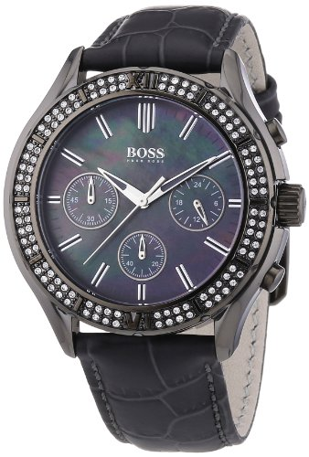hugo boss damen armbanduhr chronograph bild 1. Black Bedroom Furniture Sets. Home Design Ideas
