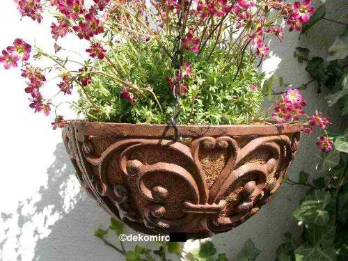Esschert design hanging basket gusseisen 25 cm test - Gartendeko gusseisen ...