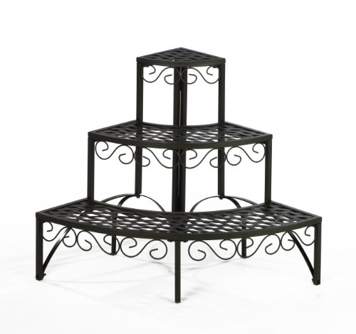 blumentreppe pflanzentreppe regal blumen garten test. Black Bedroom Furniture Sets. Home Design Ideas