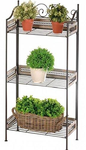 blumentreppe pflanzentreppe regal test. Black Bedroom Furniture Sets. Home Design Ideas