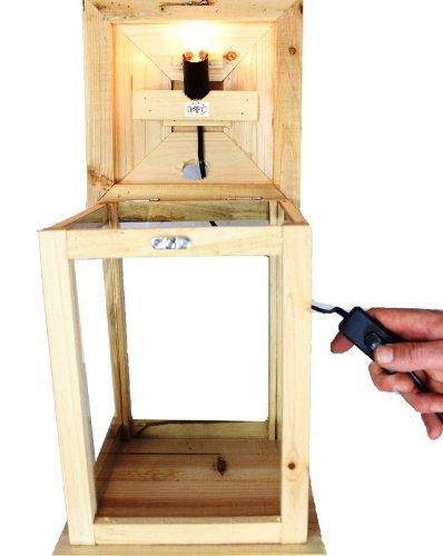 holzlaterne gro mit beleuchtung 220v test. Black Bedroom Furniture Sets. Home Design Ideas