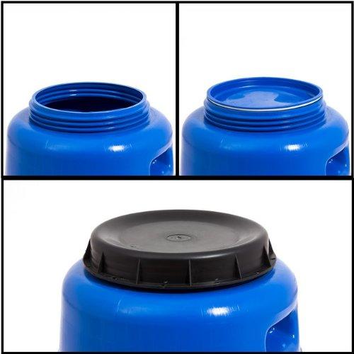 regentonne 55 l lager material beh lter blau test. Black Bedroom Furniture Sets. Home Design Ideas