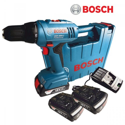 bosch akkuschrauber gsr1800 li 2xli ion 18v akku test. Black Bedroom Furniture Sets. Home Design Ideas