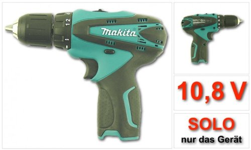 makita df 330 10 8 v li ion akkuschrauber test. Black Bedroom Furniture Sets. Home Design Ideas