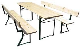 bierzeltgarnitur 220cm test. Black Bedroom Furniture Sets. Home Design Ideas